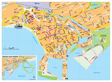 hoorn netherlands map map in hoorn freebee map