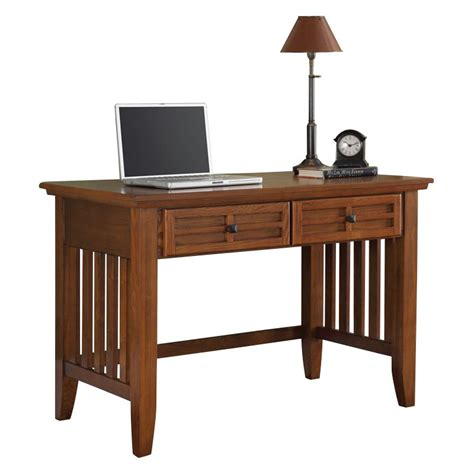 home student desk home styles arts crafts student desk cottage oak