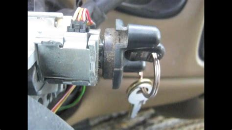 key wont turn ignition ignition lock cylinder chevy silverado   youtube