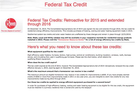 federal efficiency tax credits tax credit for new air conditioner and furnace best