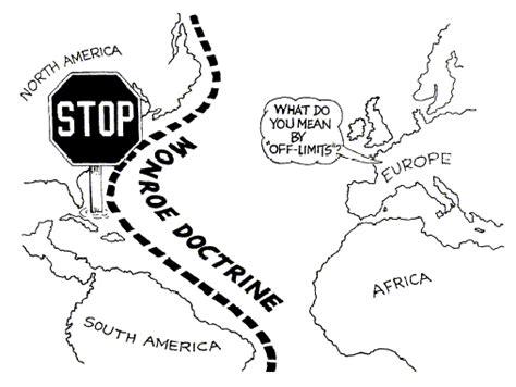 monroe doctrine manifest destiny  monroe doctrine