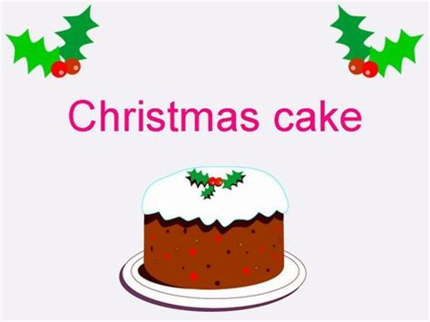 free templates for powerpoint cakes christmas cake template