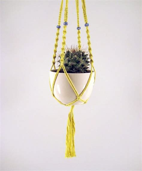 Macrame Pot Holder Pattern - 17 best images about macrame plant hanger on