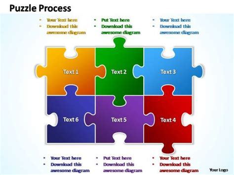 jigsaw puzzle template powerpoint best photos of jigsaw puzzle powerpoint template free
