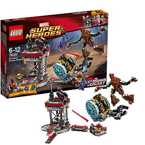 Lego Heroes 76020 Knowhere Escape Mission lego marvel heroes set 76020 knowhere escape mission price compare