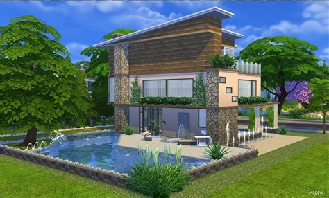 modern house blog my sims 4 blog modern house no 1 by moni