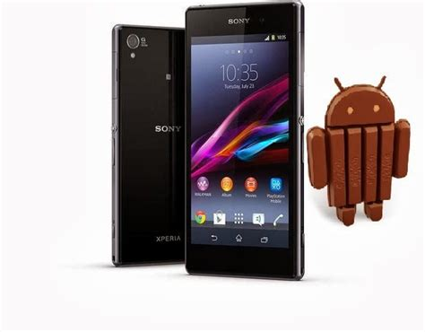 Hp Sony Xperia Android Kitkat new android 4 4 2 kitkat update for sony xperia z1 z ultra and z1 compact upcoming