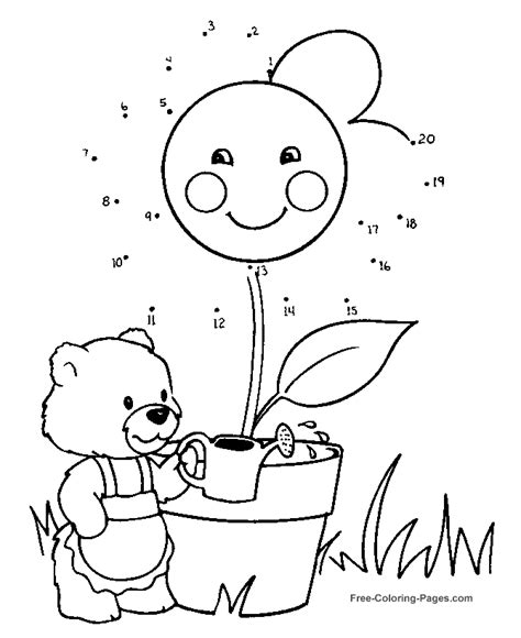 free owl dot to dot coloring pages