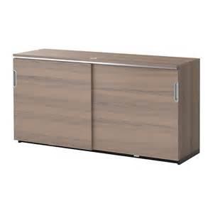 Galant Ikea Cabinet Galant Cabinet With Sliding Doors Gray Ikea