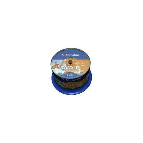 Dvdr Verbatim najni緇a cijena za verbatim dvd r 4 7gb 16x