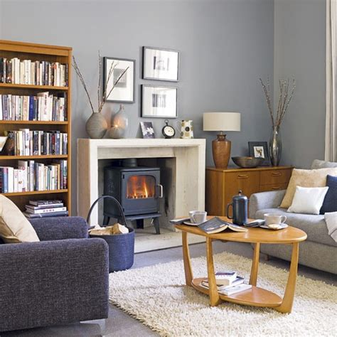 Living Room Decor Grey And Blue Grey And Blue Living Room Living Rooms Design Ideas