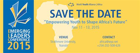 Emerging Leaders Mba Program by 2015 World Youth Alliance Africa Emerging Leaders