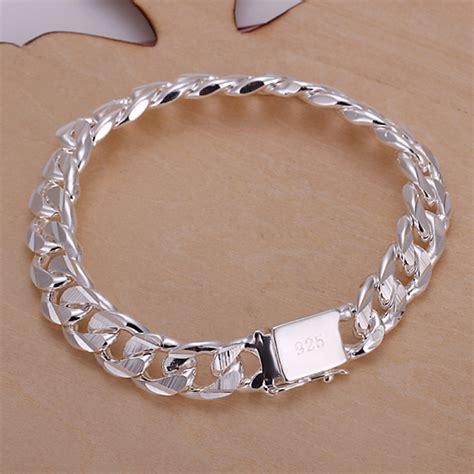 New silver bracelet, 925 sterling silver bracelets for women,fine jewelry free shipping bracelet