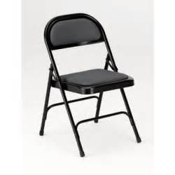 ki series 300 steel folding chair w upholstered seat
