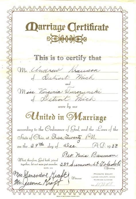Va Marriage License Records Virginia Marriage Certificates