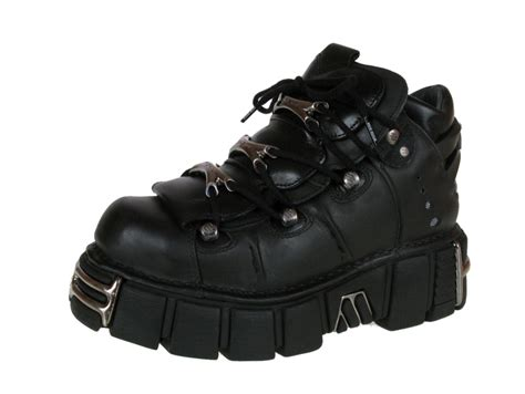 rock boots for boots leather string shoes 106 s1 black new rock m
