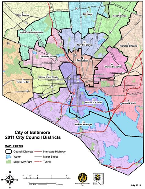 Baltimore County Property Records Baltimore City Council District Map My