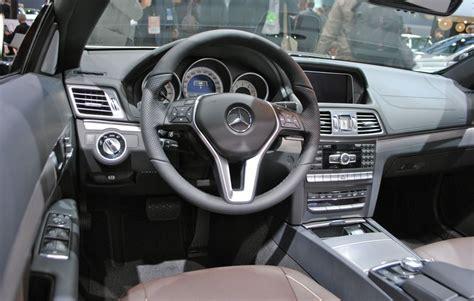 2013 Mercedes E350 Interior by 2013 Detroit 2014 Mercedes E Class Convertible