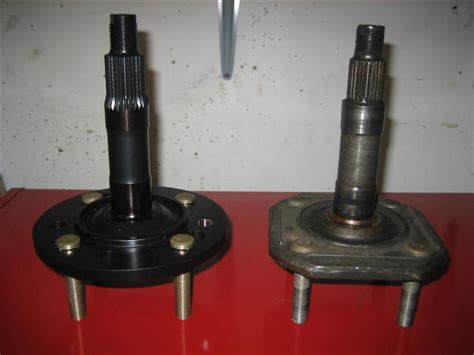 automobile front axle beam and stub axle different fp 280z suspension upgrades fall 2008
