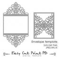 Dxf Templates by Wedding Invitation Pattern Card Template Lace Folds