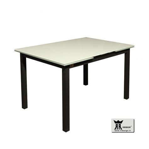tavolo in vetro moderno tavolo moderno allungabile vetro temperato nolan della