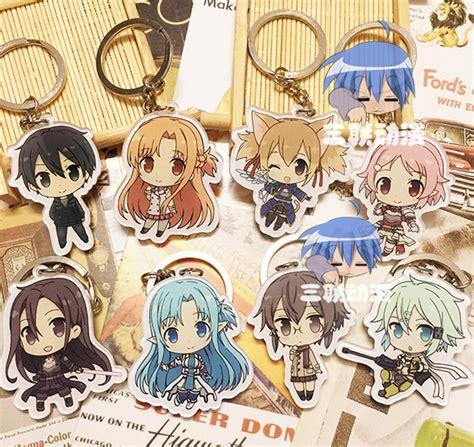Gantungan Kunci Akrilik Anime Sword Kirito Asuna buy grosir badge desain from china badge
