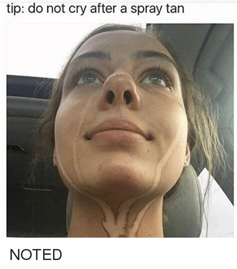 Crying Woman Meme - tip do not cry after a spray tan noted crying meme on sizzle