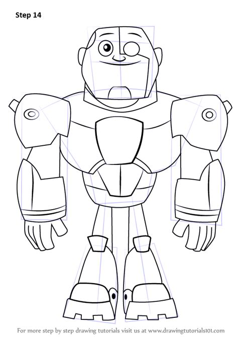 draw robin from teen titans go learn how to draw cyborg from teen titans go teen titans