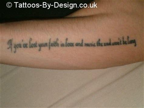 tattoo lyrics generator my lyric tattoo tattoo