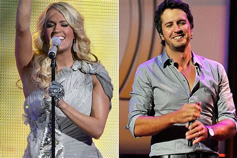 country music award results 2012 carrie underwood and luke bryan lead country nominees at