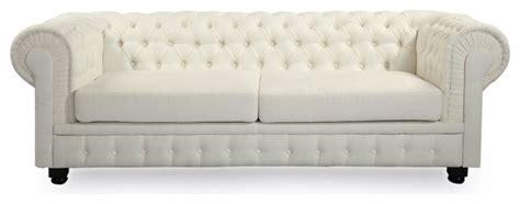 Classic Modern Sofas Kardiel Chesterfield Style Modern Classic Sofa Klein Ivory Twill Contemporary Sofas By