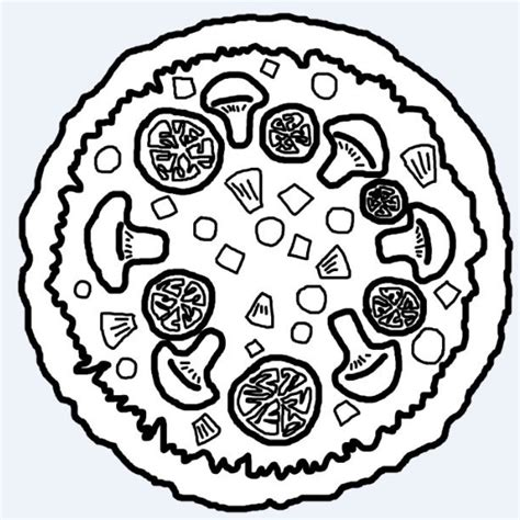 pizza clipart black and white pizza clipart black and white drawing at getdrawings free