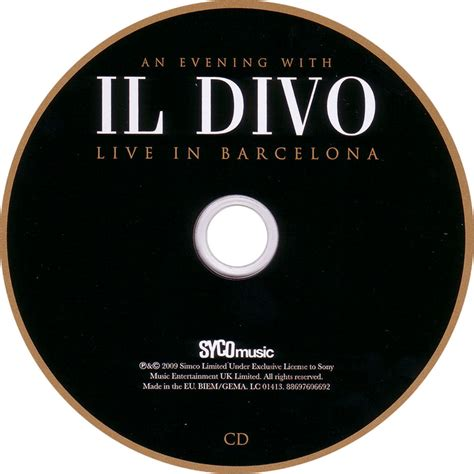 il divo cds index of caratulas i il divo
