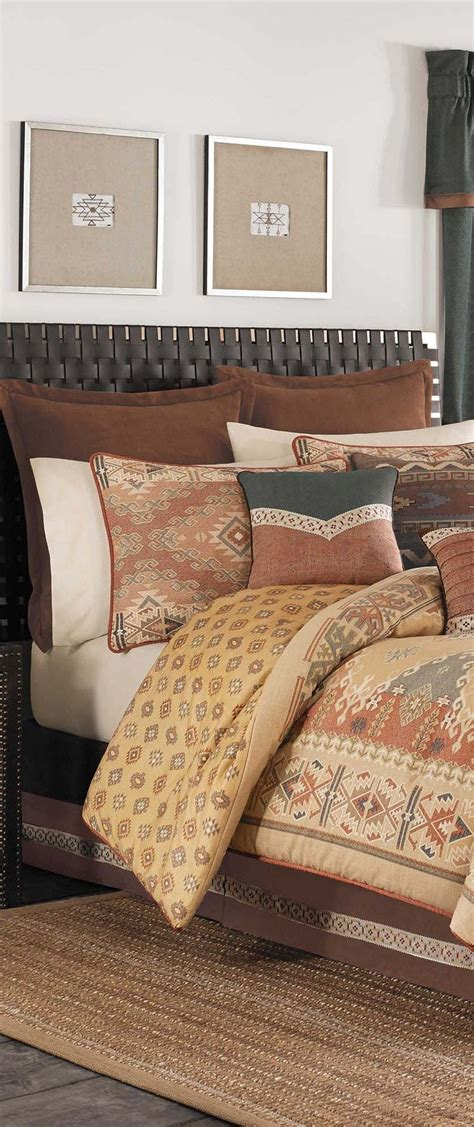 southwestern style comforter sets southwestern bedding cabin bedding and western bedding