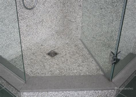 River Rock Shower Floor Problems by River Shower C 233 Ramiques Hugo Inc