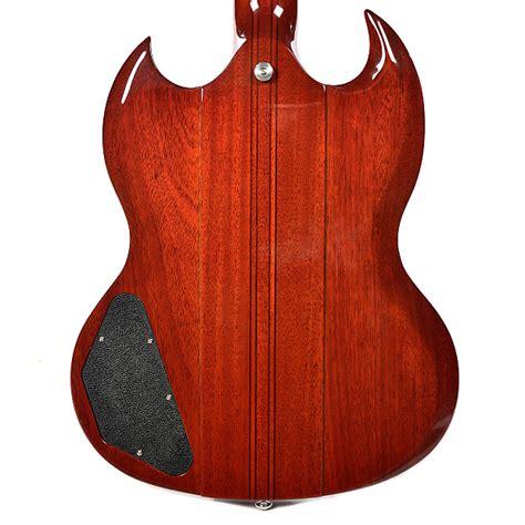 Sg Vneck Marona gibson sg neck through 12 string limited run heritage cherry reverb