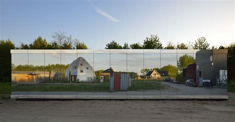 mirrored house stunning mirror house in the netherlands by johan selbing