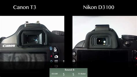youtube tutorial nikon d3100 nikon d3100 vs canon t3 rebel youtube