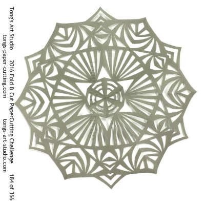 Folding And Cutting Paper - 2016 fold cut paper cutting challenge july collections