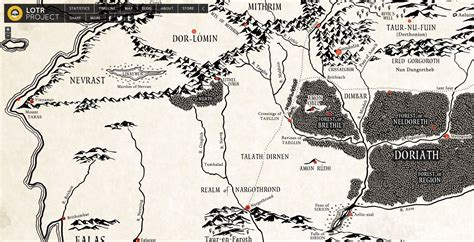 the hobbit interactive map explore this great interactive map of lost beleriand