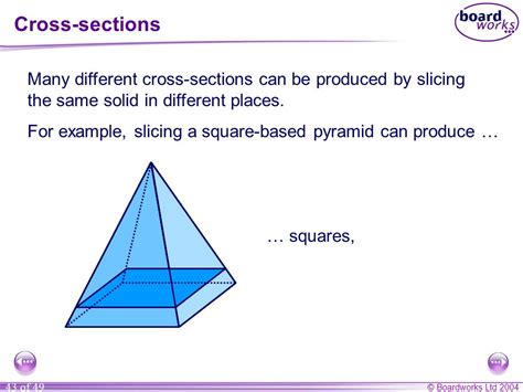 cross section of a triangular pyramid ks3 mathematics s3 3 d shapes ppt video online download