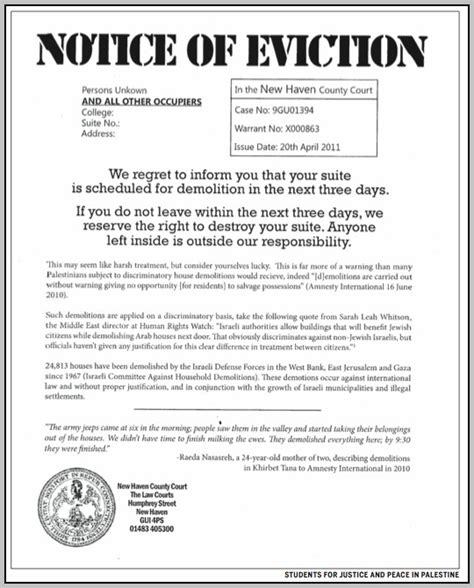 Eviction Letter Sle Philippines Eviction Notice Sle Philippines Template Resume