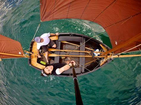 bateau aviron safran vieux safrans d annecy 187 canot apsara