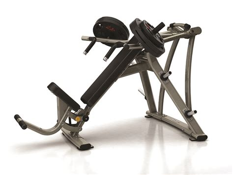 seated bench press machine equipment