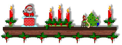 holiday fireplace cliparts   clip art