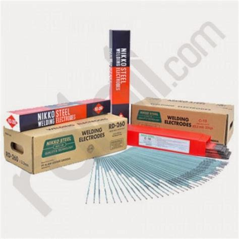 Kawat Las Nikko Steel Rd 460 2mm Pack Tisco Intranusa Sejahtera