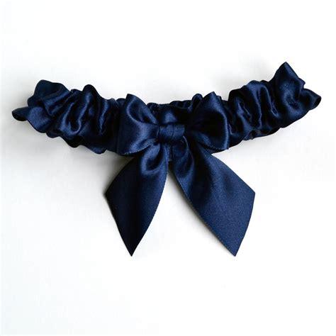 Handmade Garter - handmade something blue garter by