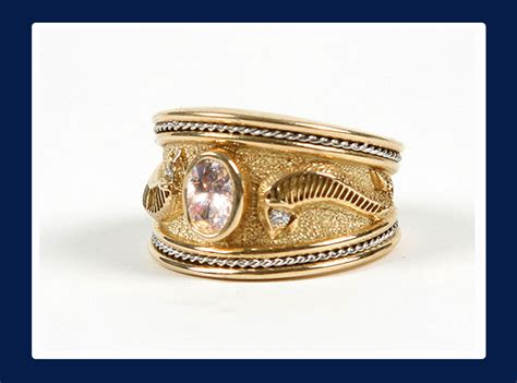 gold wide band rings wedding promise
