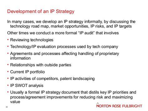 Norcat Entrepreneurship 101 2014 15 Intellectual Property Featuri Ip Strategy Template