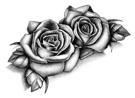 2 boards of temporary tattoos in the roses style each of